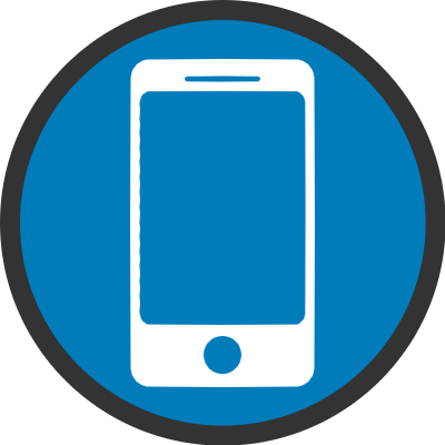 mobile website strategy icon