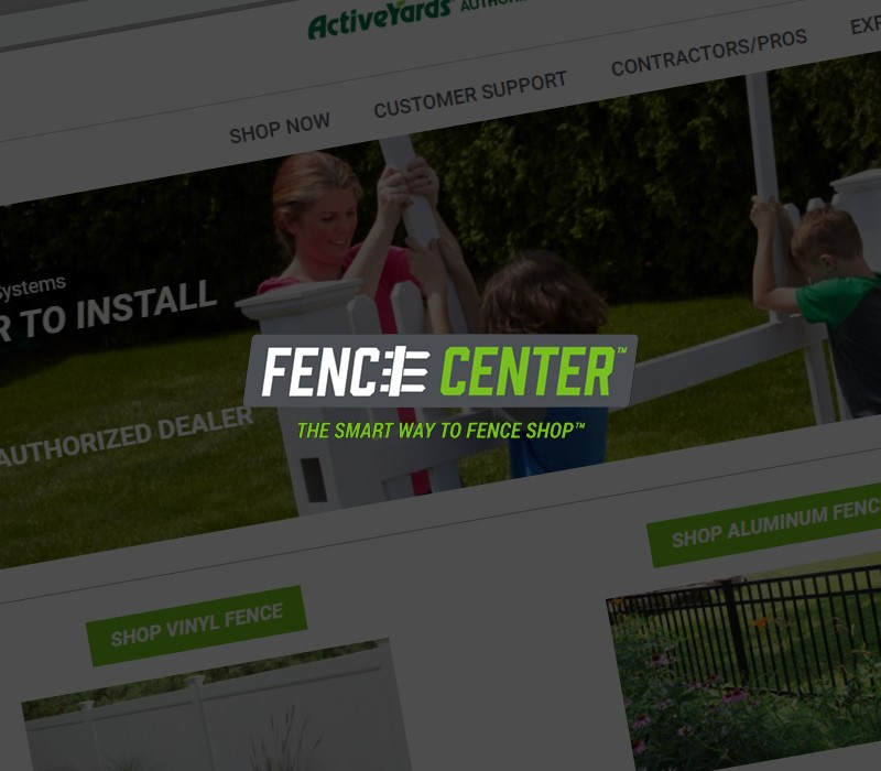 Fence Company website we developed for a NJ client